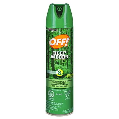 Off! Deep Woods 3 Insect Repellent, 230 g Aerosol Spray REPELLENT AEROSOL 230 G
