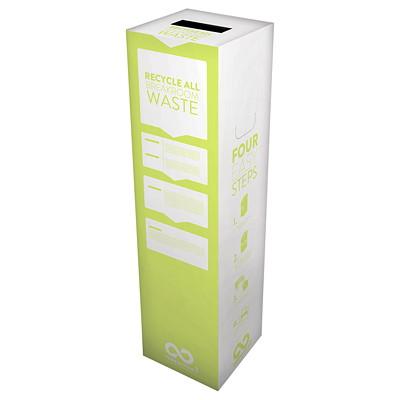Boîte Zéro Déchets pour salle de repos TerraCycle 11 X 11 X 40