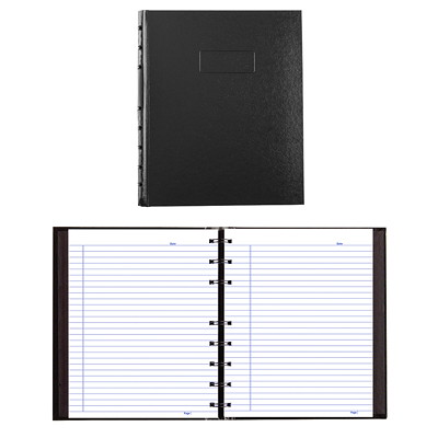 Blueline NotePro MAX Notebook BLACK TWIN WIRE BINDING HARD COVER