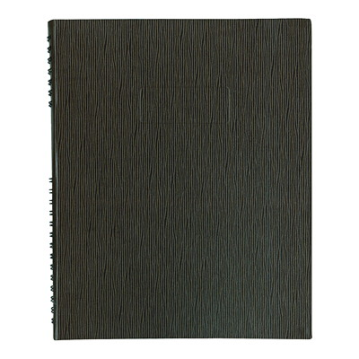 Blueline NotePro Coiled Notebook BLACK  200P.  10-3/4X8-1/2 100% PCW PAPER