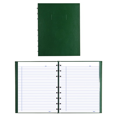 Blueline NotePro Coiled Notebook 9.25X7.25 REINFORCED HINGE RULED W/MARGIN