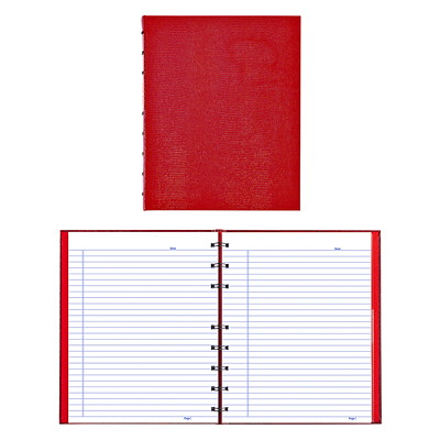 Blueline NotePro Coiled Notebook LIZARD COVER 9-1/4 X 7-1/4 150 PAGES TWIN WIRE BINDING