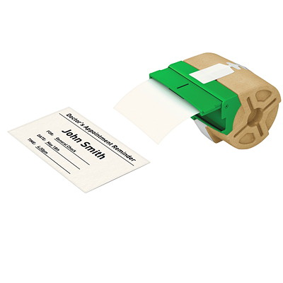 "CONTINUOUS CARD STOCK 3.5"" WHT"