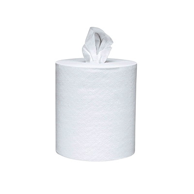 "Scott Centre-Pull White Hand Paper Towels  2-PLY 8""X15"" 500 SHEETS/ROLL 4 ROLLS/CASE"