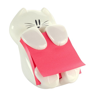 Post-it Pop-Up Notes Cat Dispenser FOR POP-UP NOTE PADS