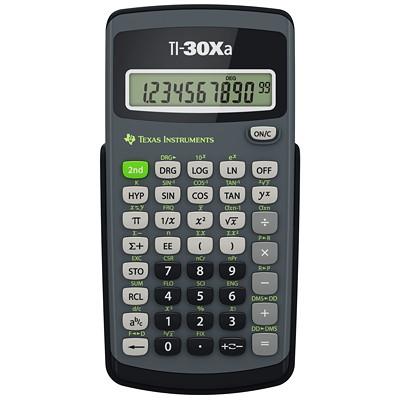 Calculatrice scientifique à 164 fonctions Texas Instruments TEXAS INST  MEMOIRE 3 TOUCHES DISPOSITIF DE COUPURE AUTOMAT