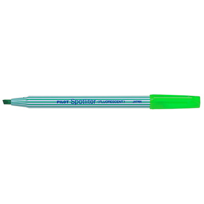 Pilot Spotliter Highlighters FINE WEDGE-SHAPED POINT FLUORESCENT