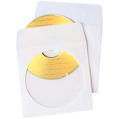 Quality Park Protective CD/DVD Envelopes, 50/BX 24LB