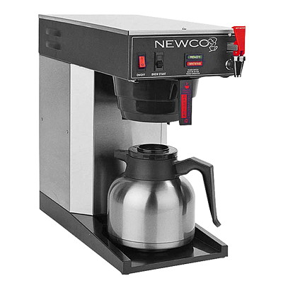 Newco ACE-TC Low Profile Coffee Brewer For Thermal Carafes FOR THERMAL CARAFE