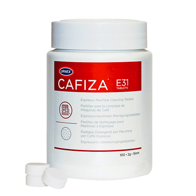 URNEX Cafiza Espresso Machine Cleaning Tablets