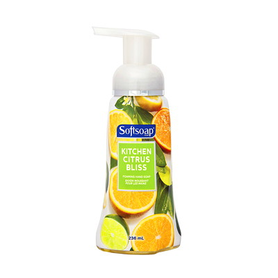 Softsoap Foaming Hand Soap KITCHEN CITRUS BLISS 236 ML FORMAT