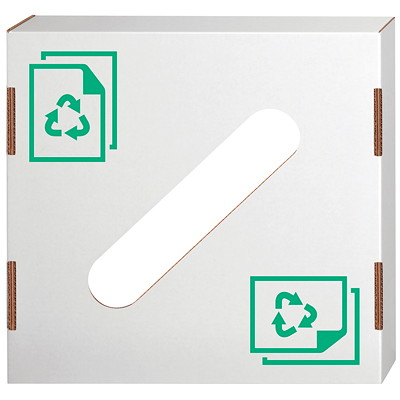 Bankers Box Lid for Waste and Recycling Bin FITS ON 42 OR 50 GALLON BIN REUSABLE  RECYCLABLE