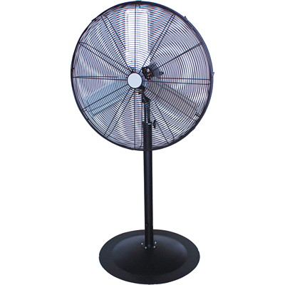 "Royal Sovereign 30"" Commercial Pedestal Fan BLACK"