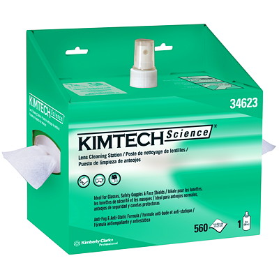 Kimtech Science Kimwipes Delicate Task Wipers, White, 140/BX