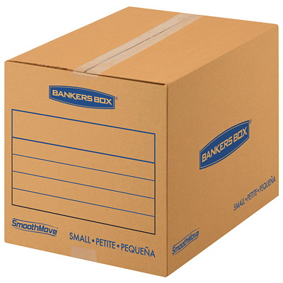 Fellowes SmooveMove Small Basic Moving Boxes