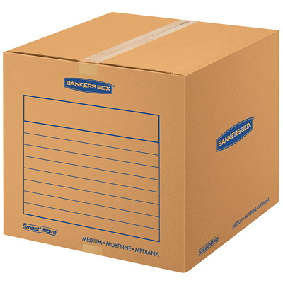 Fellowes SmoothMove™ Basic Moving Boxes, Medium