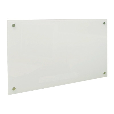 "Quartet Magnetic Glass Cubicle Board PERSONAL DRY-ERASE 14"" X 24""  WHITE"