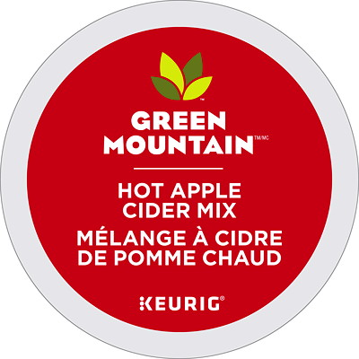 Green Mountain Hot Apple Cider Mix Single-Serve K-Cup Pods  GREEN MOUNTAIN