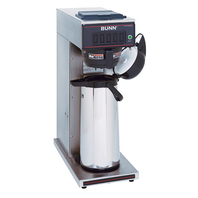 Bunn CW15-APS Pourover Brewer STAINLESS  BLACK PLASTIC