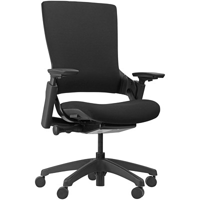 Horizon Activ Synchro-Glide Chair SLIDING SEAT AND TTILT-TENSION BLACK