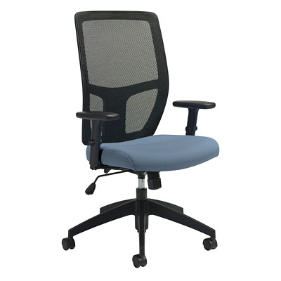 Offices To Go Format High-Back Simple Synchro-Tilt Chair HIGH BACK  WITH HEADREST  SYNC