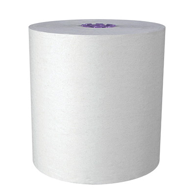 "Scott Essential High-Capacity Hard Roll Paper Towels 8""X950' PER ROLL ECOLOGO & FSC CERTIFIED"