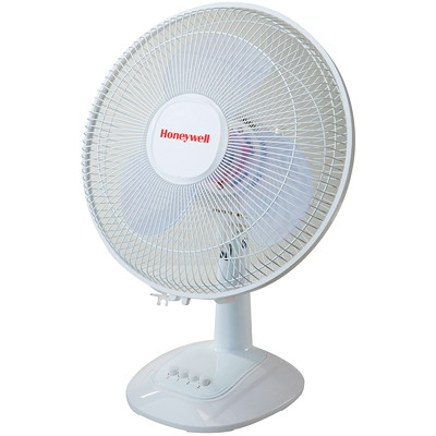 "Honeywell 12"" Personal Table Fan POWERFUL PERSONAL COOLING 3 SPEED SETTINGS"