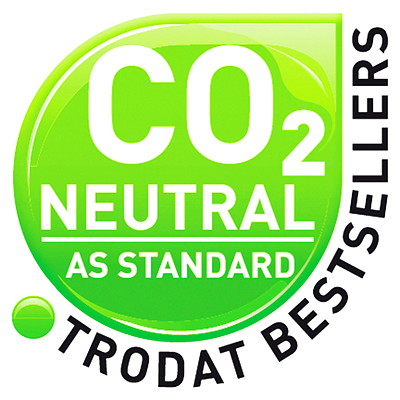 Trodat Printy 4911 Climate Neutral Self-Inking Stamp  TRODAT RED INK ENGLISH ONLY