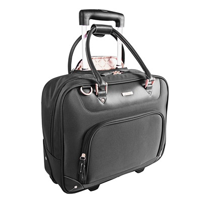 Roots Slim Wheeled Business Case ON WHEELS BLACK