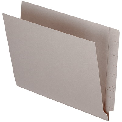 "Pendaflex Grey Coloured Straight Tab Letter-size (8 1/2"" x 11"") Shelf File Folders PENDAFLEX 10% PCW LETTER SIZE STRAIGHT TAB"