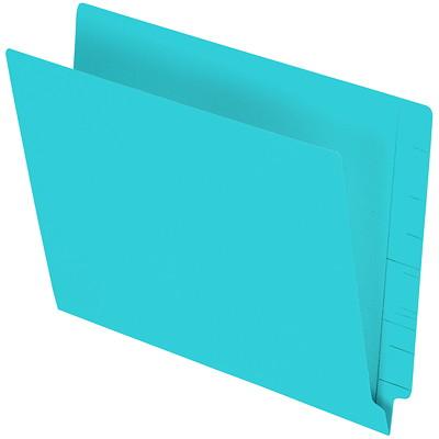 "Pendaflex Turquoise Coloured Straight Tab Letter-size (8 1/2"" x 11"") Shelf File Folders PENDAFLEX 10% PCW LETTER SIZE STRAIGHT TAB"