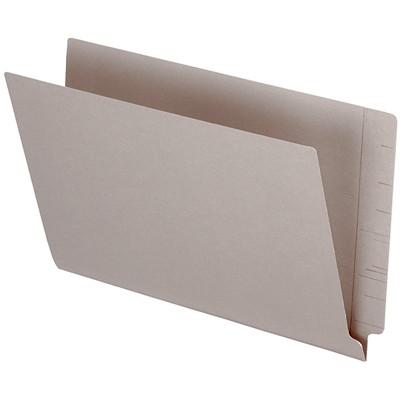 "Pendaflex Grey Coloured Straight Tab Legal-size (8 1/2"" x 14"") Shelf File Folders PENDAFLEX 10%PCW STRAIGHT TAB"
