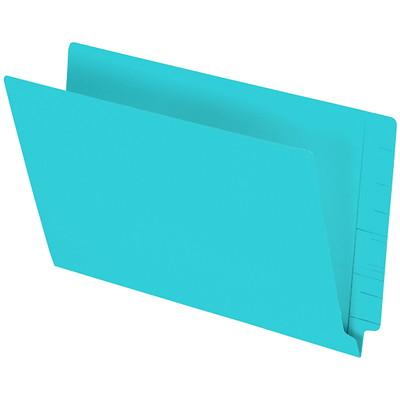 "Pendaflex Turquoise Coloured Straight Tab Legal-size (8 1/2"" x 14"") Shelf File Folders PENDAFLEX 10%PCW STRAIGHT TAB"