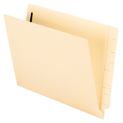 "Pendaflex Shelf Fastener Folders 2""CAP 11PT STCK STRAIGHT CUT TAB 9-1/2 INCH FRONT PANEL"