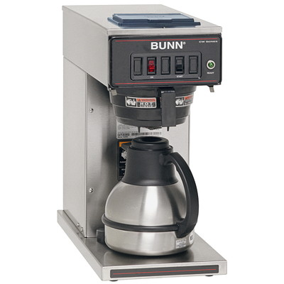 Bunn CW15-TC Thermal Cafe Pour Over Brewer POUR OVER