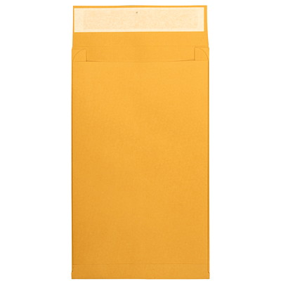 Quality Park Kraft Redi-Strip Self-Adhesive Expansion Envelopes BROWN KRAFT  25PK REDI-STRIP CLOSURE