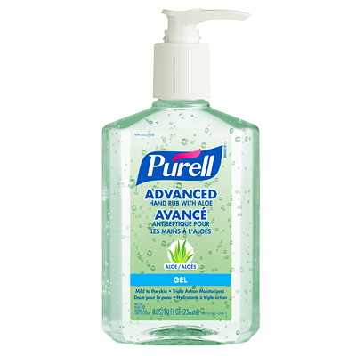 Purell Advanced Gel Hand Sanitizer with Aloe, 62% Alcohol Content, 236 mL GEL  236 ML