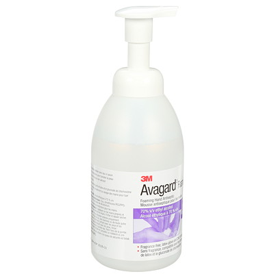 3M Avagard Foaming Instant Hand Antiseptic  70% ALCOHOL 500ML