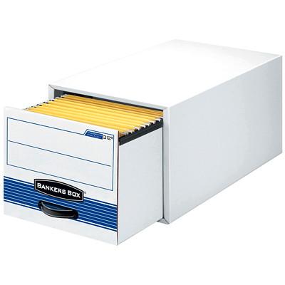 Bankers Box Stor/Drawer Steel Plus Storage Drawer DRAWER LEGAL SIZE WITH HANGING FOLDER RAILS 65% REC / 59% PCW