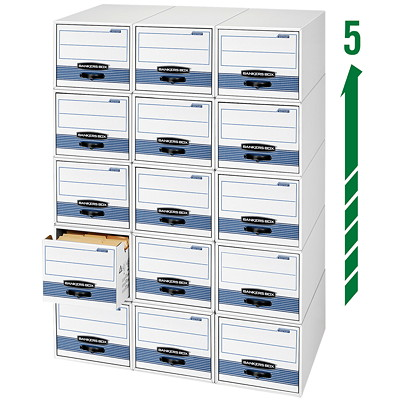 Bankers Box Stor/Drawer Steel Plus Storage Drawer RE-ENFORCED STORAGE DRAWER LTR SZ  65% REC / 59% PCW