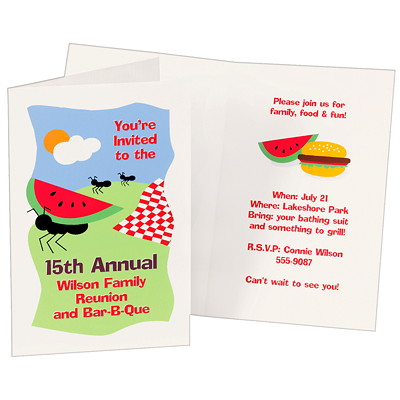 "Avery Half-Fold Greeting Cards, White, 5 1/2"" x 8 1/2"", 20/PK PERSONAL CREATION.DESIGN & PTG YOUR OWN 20/5 1/2X8 1/2 & ENV."