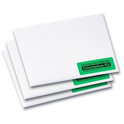 "Avery 5971 High-Visibility Rectangular Laser Labels, Neon Green, 2 5/8"" x 1"", 30 Labels/Sheet, 25 Sheets/PK 750LABELS/ENVELOPE"