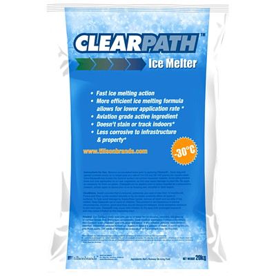 ClearPath Ice Melter ADVANCED FORMULA WITH X-22 COR SMART MELT TECHNOLOGY
