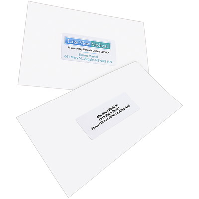 "Avery 5263 Shipping Labels with TrueBlock Technology, White, 2"" x 4"", 10 Labels/Sheet, 25 Sheets/PK PERMANENT  WHITE  SHEET LASER  4"" X 2""  250 LBLS/PKG"