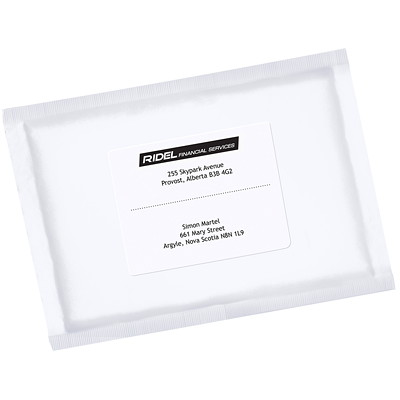 "Avery EcoFriendly White Address and Shipping Labels 3-1/3""X4""  6LBLS/SHT 100SHT/BX 600/BX INKJET & LASER COMPAT."