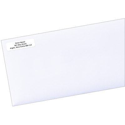 "Avery EcoFriendly White Address and Shipping Labels LASER/INK JET  WHITE 1/2"" X 1-3/4""  8000 LBLS/BOX"