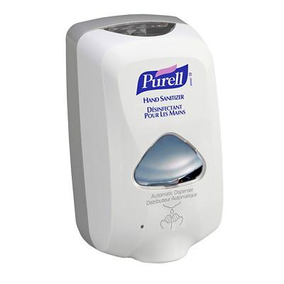 Purell TFX Touch-Free Hand Sanitizer Dispenser, Dove Grey, 1,200 mL Capacity DISPENSER