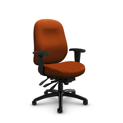 Global Granada Deluxe Mid-Back Multi-Tilter Chair
