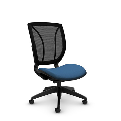 Global Roma Armless Mesh Posture Chair