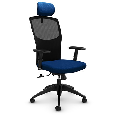 Global Alero High-Back Mesh Tilter Chair with Headrest
